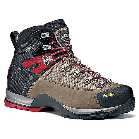 Camp and Hike Free Shipping. Asolo Men's Fugitive GTX Boot DECENT FEATURES of the Asolo Men's Fugitive GTX Boot Upper: Water resistant suede 1,6-1,8 mm + high tenacity nylon Lining: Gore-Tex performance comfort footwear Lasting Board: Duo Asoflex man Anatomic Footbed: Lite 2 Sole: Asolo Syncro rubber-PU Fit: MM/MW Weight: 1/2 pair: 690 grams - $224.95