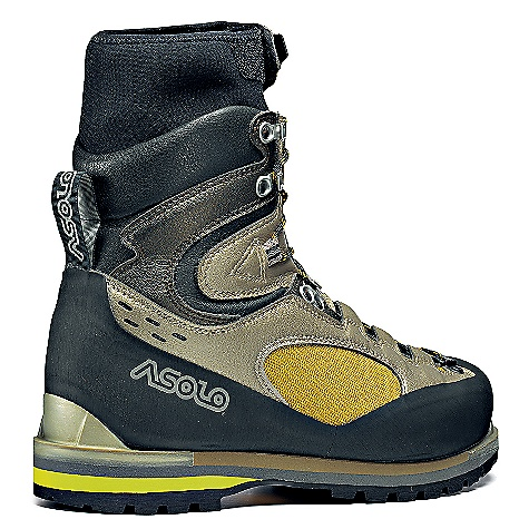 On Sale. Free Shipping. Asolo Men's Cholatse TH Boot DECENT FEATURES of the Asolo Men's Cholatse TH Boot Upper: High resistance polyamide fabric + micro fiber Lining: Thins late 150 grams Asoframe: Carbon + Kevlar Anatomic Foot Bed: Summit Sole: Vibram Lava redo + dual-density midsole in micro porous rubber + PU attachments for automatic crampons Fit: MM Weight: 1/2 pair: 780 grams - $370.99