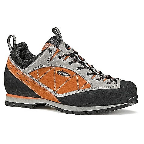 Camp and Hike On Sale. Free Shipping. Asolo Men's Distance Shoe DECENT FEATURES of the Asolo Men's Distance Shoe Upper: Water resistant suede 1,6-1,8 mm Lining: Velveteen Lasting Board: Assure Man Anatomic Foot Bed: Lite 1 Sole: Vibram sebolet new + dual-density midsole in micro porous rubber Fit: MM-ML Weight: 1/2 pair: 470 grams - $120.99