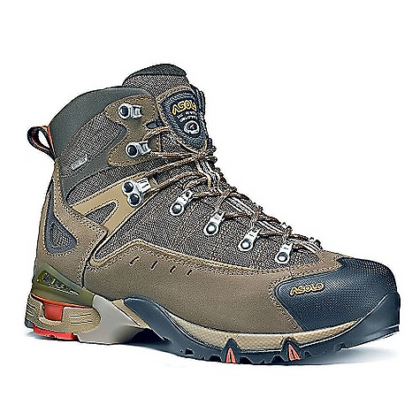 Camp and Hike Free Shipping. Asolo Men's Flame GTX Boot DECENT FEATURES of the Asolo Men's Flame GTX Boot Upper: Water resistant suede 1,6-1,8 mm + high tenacity nylon Lining: Gore-Tex performance comfort footwear Lasting Board: Asoflex 400 gold Anatomic Footbed: Lite 2 Sole: Matrix (rubber-eva) + Active Heel Support Fit: MM/MW Weight: 1/2 pair: 640 grams - $234.95