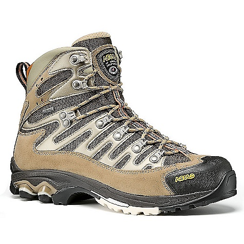 Camp and Hike On Sale. Free Shipping. Asolo Men's Force GTX Boot DECENT FEATURES of the Asolo Men's Force GTX Boot Upper: Water resistance suede 1,6-1,8 mm + high tenacity nylon Lining: Gore-Tex performance comfort footwear Lasting Board: Power Lite Asoflex Anatomic Footbed: Lite 2 Sole: Power Lite (rubber-eva) + Pebax heel reinforcement Fit: MM Weight: 580 grams (1/2 pair size 8.5 US) - $174.99