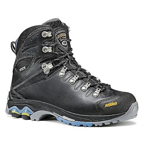 Camp and Hike On Sale. Free Shipping. Asolo Women's Ergo GTX Boot DECENT FEATURES of the Asolo Women's Ergo GTX Boot Upper: Water resistant full grain leather 1,6-1,8 mm Lining: Gore-Tex performance comfort footwear Lasting Board: Power lite asoflex Anatomic Foot Bed: Lite 2 Sole: Power lite (rubber-eva) + Pebax heel reinforcement Fit: ML Weight: 1/2 pair: 520 grams - $184.99