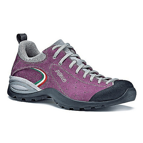 Camp and Hike On Sale. Free Shipping. Asolo Women's Scorpion Shoe DECENT FEATURES of the Asolo Women's Scorpion Shoe Upper: Water resistance suede 1,6-1,8 mm Lining: Velveteen Anatomic Footbed: Lite 2 Sole: Asolo/Vibram Tenere (rubber-eva) Fit: MM-ML Weight: 360 grams (1/2 pair size 8.5 US) - $89.99