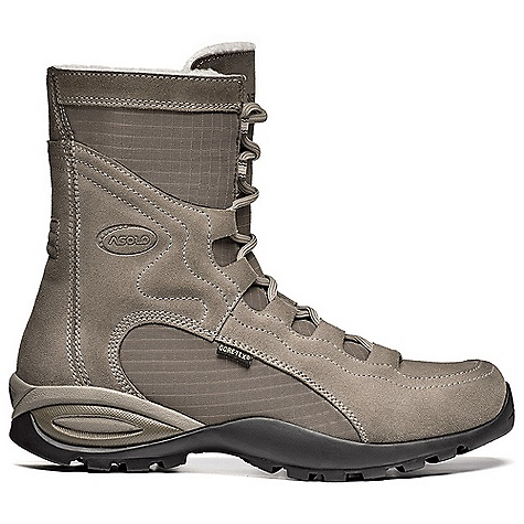 On Sale. Free Shipping. Asolo Women's Demetra GV Boot DECENT FEATURES of the Asolo Women's Demetra GV Boot Upper Polyester + water-resistant suede mm 1,6-1,8 Lining Gore-Tex insulated comfort footwear Lasting board Asoflex light Anatomic foot bed escape winter Sole Asolo-Vibram Tenere rubber-eva Fit ML Weight: 1/2 pair: 440 grams - $163.99