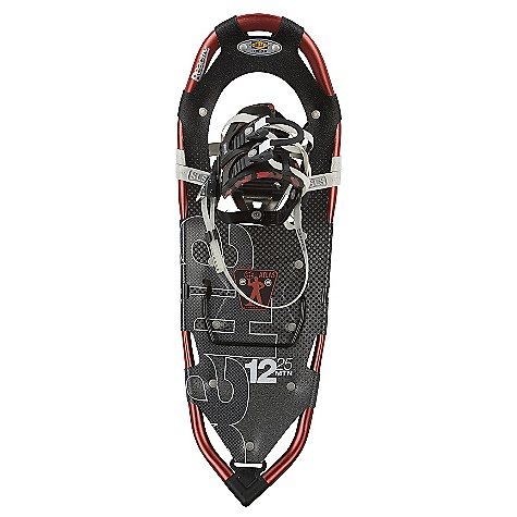 Camp and Hike On Sale. Free Shipping. Atlas Men's 12 Series Snowshoe DECENT FEATURES of the Atlas Men's 12 Series Snowshoe Spring-Loaded Suspension: An Atlas tenet from the beginning, Atlas' patented Spring-Loaded Suspension (SLS) keeps the snowshoe close underfoot for easy maneuvering and suspends your foot so it can move freely with its intended articulation, absorbing impact, flexing naturally side-to-side, and allowing deeper crampon penetration into the slope Wrapp Family Bindings: The mainstay of our Mountain Hiking snowshoes, the Wrapp Pro, Wrapp Plus, and new Wrapp Swift bindings offer a range of customization and features, all built around a platform of gender-specific lasts, exceptional arch support and one-pull Uniloop design for superior performance and fit V-Frames: A proprietary Atlas shape, our sturdy aluminum V-Frames track straight in deep snow, and the tapered tail pulls less snow as you step forward, saving your energy. The turned-up tail of the V-frame rolls easily into each step for a natural gait ReactiV 7075 Aluminum Frame Heel Lift Bar Duratek Decking Stainless Steel Holey-1 Toe Crampon Stainless Steel Advanced Aft Traction The SPECS for 25IN Length: 25in. / 64 cm Surface Area: 176 square inches / 1135 square meter Weight: 4.08 lbs / 1.85 kg Load: 120 - 200 lbs / 54 - 91 kg The SPECS for 30IN Length: 30in. / 76 cm Surface Area: 222 square inches / 1432 square meter Weight: 4.46 lbs / 2.02 kg Load: 150 - 250 lbs / 68 - 113 kg The SPECS for 35IN Length: 35in. / 89 cm Surface Area: 270 square inches / 1742 square meter Weight: 4.62 lbs / 2.10 kg Load: 180 - 300 lbs / 82 - 136 kg OVERSIZE ITEM: We cannot ship this product by any expedited shipping method (3-Day, 2-Day or Next Day). Even if you pick that option, it will still go Ground Shipping. Sorry for being so mean. - $195.99