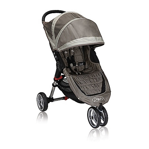 Entertainment Free Shipping. Baby Jogger City Mini Single Stroller DECENT FEATURES of the Baby Jogger Mini Single Stroller Patented Quick-Fold Technology - allows you to fold your stroller with one hand Swivel front wheel for quick and agile maneuverability can lock into place for long distance strolling 8in. quick-release EVA wheels with sealed ball bearings Padded seat reclines to a near flat position with a vented seat top and retractable weather cover Universal accessory mounting bracket - accessorize your stroller with ease Large multi-position sun canopy with clear view Rounded handlebar for pushing comfort Front wheel suspension provides a smooth comfortable ride Seat back storage compartment Large, easy to access under seat storage basket Adjustable five-point safety harness with shoulder pads and buckle cover Rear parking brake Removable auto-lock to keep stroller folded 50 lb. weight capacity on stroller The SPECS Seat back: 19.5in. Head height: 23in. Shoulder width: 12.5in. Seat to knee: 10in. Knee to footplate: 9in. Width to knee: 14in. - $249.95