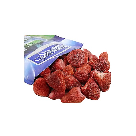 Camp and Hike Backpackers Pantry Freeze Dried Strawberries The Freeze-dried Strawberries by Backpacker's Pantry. A ready-to-eat treat of all-natural whole strawberries. SPECIFICATIONS of the Freeze-dried Strawberries by Backpacker's Pantry Serves one light snack No Sodium Ready to Eat - $4.10