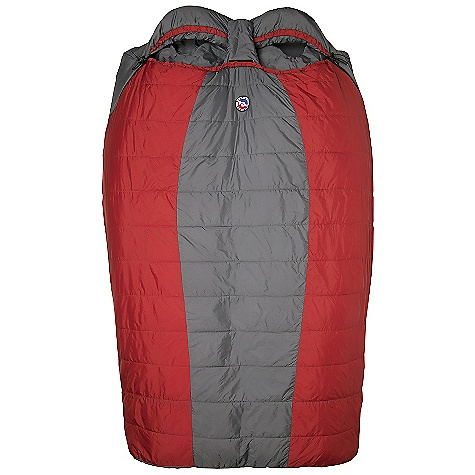 Camp and Hike Free Shipping. Big Agnes Big Creek 30 Degree Sleeping Bag DECENT FEATURES of the Big Agnes Big Creek 30 Degree Sleeping Bag Designed for two people Integrated full pad sleeve design Rectangular shaped bags Extra 2in./5cm of length in foot box: King Solomon, Big Creek and Cabin Creek Zipper on each side Pillow pockets Liner loops Mesh storage sack and nylon stuff sack No-draft collar, No-draft wedge, No-draft zipper, No-draft center flap The SPECS Capacity: 2 Person Temperature Rating: 30deg F / -1deg C Fill Type: SL90 Fill Weight: 35 oz / 992 g Bag Weight: 4 lbs 7 oz / 2013 g Stuff Sack Size: L: 9 x 20in. / 23 x 51 cm Compressed Size: 9 x 10in. / 23 x 25 cm Fits Up To: 6'2in./ 188 cm Pad Size: 2-20 x 72in./ 51 x 183cm Nylon rip-stop shell Nylon Taffeta lining SL90 synthetic insulation - $239.95
