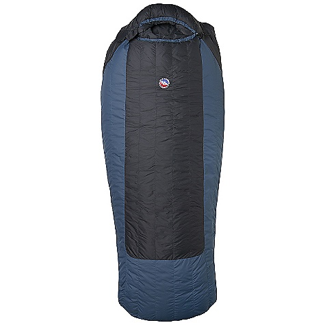 Camp and Hike On Sale. Free Shipping. Big Agnes Deer Park 30 Degree Sleeping Bag DECENT FEATURES of the Big Agnes Deer Park 30 Degree Sleeping Bag Integrated full pad sleeve design Rectangular shaped bag Pillow pocket Liner loops 70in./178cm YKK #8 zipper Mate together left and right zip bags Mesh storage sack and nylon stuff sack No-draft collar, No-draft wedge, No-draft zipper The SPECS Temperature Rating: 30deg F / -1deg C Fill Type: 600 down Nylon Micro-fiber rip-stop Insotect Flow Construction Fit Up To: 6'6in. / 198 cm Fill Weight: 16 oz / 455 g Bag Weight: 3 lbs 1 oz / 1389 g Pad Size: 25 x 78in. / 64 x 198 cm Stuff Sack Size: L: 9 x 20in. / 23 x 51 cm Compressed Size: 9 x 8.5in. / 23 x 22 cm - $199.96