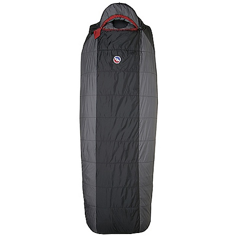 Camp and Hike Free Shipping. Big Agnes Gunn Creek 30 Degree Sleeping Bag DECENT FEATURES of the Big Agnes Gunn Creek 30 Degree Sleeping Bag Integrated full pad sleeve Rectangular shaped bag Pillow Pocket Liner loops 60in. /152cm YKK #8 zipper - Encampment Small 70in./178cm YKK #8 zipper - Regular and Long Mate together left and right zip bags Mesh storage sack and nylon stuff sack No-draft collar, No-draft wedge, No-draft zipper The SPECS Temperature Rating: 30deg F / -1deg C Stuff Sack Size: M: 8 x 17.5in. / 20 x 45 cm Fill Type: Integrity Nylon rip-stop fabric A-Flex construction: Encampment, Farwell A-Shingo construction: Gunn Creek Quilted Construction: Cross Mountain Integrity 97% recycled insulation The SPECS for Short Fit Up To: 5'6in. / 168 cm Pad Size: 20 x 66in. / 51 x 168 cm The SPECS for Regular Fit Up To: 5'10in. / 178 cm Pad Size: 20 x 72in. / 51 x 183 cm Fill Weight: 20 oz / 567 g Bag Weight: 2 lbs 13 oz / 1276 g Compressed Size: 8 x 9in. / 20 x 23 cm The SPECS for Long Fit Up To: 6'6in. / 198 cm Pad Size: 20 x 78in. / 51 x 198 cm Fill Weight: 22 oz / 624 g Bag Weight: 3 lb 2 oz / 1417 g Compressed Size: 9 x 9in. / 23 x 23 cm - $154.95