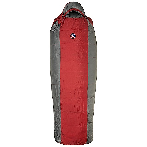 Camp and Hike Free Shipping. Big Agnes Encampment 15 Degree Sleeping Bag DECENT FEATURES of the Big Agnes Encampment 15 Degree Sleeping Bag Integrated full pad sleeve Rectangular shaped bag Pillow Pocket Liner loops 60in. /152cm YKK #8 zipper - Encampment Small 70in./178cm YKK #8 zipper - Regular and Long Mate together left and right zip bags Mesh storage sack and nylon stuff sack No-draft collar, No-draft wedge, No-draft zipper The SPECS Temperature Rating: 15deg F / -9deg C Fill Type: Integrity Nylon rip-stop fabric A-Flex construction: Encampment, Farwell A-Shingo construction: Gunn Creek Quilted Construction: Cross Mountain Integrity 97% recycled insulation The SPECS for Short Fit Up To: 5'6in./ 168cm Pad Size: 20 x 66in. / 51 x 168 cm Fill Weight: 22 oz / 624 g Bag Weight: 2 lbs 15 oz / 1332 g Stuff Sack Size: 8 x 17.5in. / 20 x 45 cm Compressed Size: 9 x 8.5in. / 22 x 23 cm The SPECS for Regular Fit Up To: 5'10in./ 178cm Pad Size: 20 x 72in. / 51 x 183 cm Fill Weight: 24 oz / 680 g Bag Weight: 3 lbs 4 oz / 1474 g Stuff Sack Size: 9 x 20in. / 23 x 51 cm Compressed Size: 10 x 10in. / 25 x 25 cm The SPECS for Long Fit Up To: 6'6in./ 198cm Pad Size: 20 x 78in. / 51 x 198 cm Fill Weight: 27 oz / 765 g Bag Weight: 3 lbs 9 oz / 1616 g Stuff Sack Size: 9 x 20in. / 23 x 51 cm Compressed Size: 10 x 11in. / 25 x 28 cm - $159.95