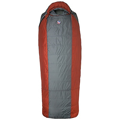 Camp and Hike On Sale. Free Shipping. Big Agnes Hog Park 20 Degree Sleeping Bag DECENT FEATURES of the Big Agnes Hog Park 20 Degree Sleeping Bag Integrated full pad sleeve Rectangular shaped bag Pillow Pocket Liner loops 70in./178cm YKK #8 zipper Mate together left and right zip bags Nylon stuff sack No-draft collar, No-draft wedge, No-draft zipper The SPECS Temperature Rating: 20deg F / -7deg C Fit Up To: 6'6in. / 198 cm Pad Size: 25 x 78in. / 64 x 198 cm Fill Type: Quallofil Fill Weight: 40 oz / 1134 g Bag Weight: 5 lbs 11 oz / 2580 g Stuff Sack Size: XL: 10 x 21in. / 25 x 53 cm Compressed Size: 10 x 21in. / 25 x 31 cm Nylon rip-stop shell fabric Cotton/Polyester lining Thermolite Quallofil insulation - $135.96