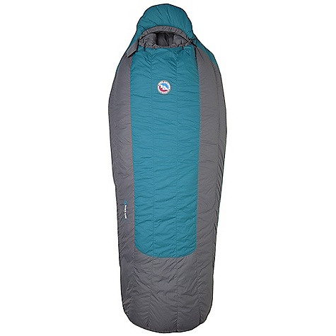 Camp and Hike Free Shipping. Big Agnes Women's Roxy Ann 15 Degree Sleeping Bag DECENT FEATURES of the Big Agnes Women's Roxy Ann 15 Degree Sleeping Bag Integrated full pad sleeve Rectangular shaped bag Extra 2in./5cm of girth in hip area Extra 2in./5cm of length in foot box Pillow Pocket Liner loops 60in./152cmYKK #8 zipper - petite bags 70in./178cm YKK #8 zipper - regular bags Mate together left and right zip bags Mesh storage sack and nylon stuff sack No-draft collar, No-draft wedge, No-draft zipper The SPECS Temperature Rating: 15deg F / -9deg C Fill Type: 650 DownTekTM Nylon Microfiber rip-stop Insotect Flow Construction 650 fill DownTek water repellent down The SPECS for Petite Bag Weight: 2 lbs 10 oz / 1191 g Fill Weight: 13.5 oz / 383 g Compressed Size: 8 x 9in. / 20 x 23 cm Stuff Sack Size: 8 x 17.5in. / 20 x 45 cm Fits up to: 5'6in. / 168 cm Pad Size: 20 x 66in. / 51 x 168 cm The SPECS for Regular Bag Weight: 2 lbs 15 oz / 1332 g Fill Weight: 15 oz / 425 g Compressed Size: 8 x 9.5in. / 20 x 24 Stuff Sack Size: 8 x 17.5in. / 20 x 45 cm Fits up to: 5'10in. / 178 cm Pad Size: 20 x 72in. / 51 x 183 cm - $229.95