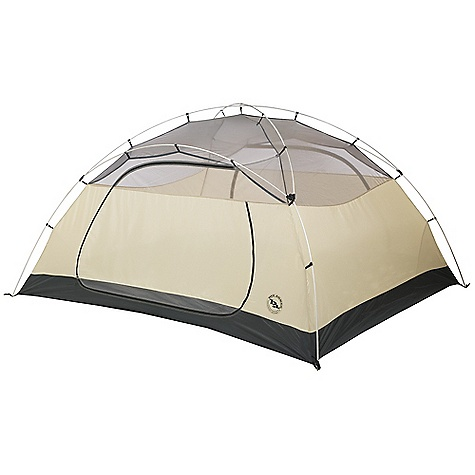 Camp and Hike On Sale. Free Shipping. Big Agnes Lynx Pass - 4 Person Tent DECENT FEATURES of the Big Agnes Lynx Pass 4 Person Tent Storm flap on vestibule zippers prevents drips Fabrics used on our tents include silicone treated nylon rip-stop and polyester depending on the model Cordura and event fabrics used in our Mountaineering line Waterproof polyurethane coating on all fly and floor fabrics Reflective guy line and reflective webbing on tent corners for night time visibility All seams taped with waterproof, solvent free polyurethane tape Color coded pole ends, webbing and buckles make set up easy Fly vents improve ventilation to reduce condensation Features double doors and vestibules Fly is polyester rip-stop with 1200mm waterproof polyurethane coating Floor is polyester with 1500mm waterproof polyurethane coating Tent body is polyester rip-stop and polyester mesh DAC pole system with press fit connectors and lightweight hubs Plastic clips attach tent body to pole frame Hub pole design Eight (1), 11 (2 and 3), 12 (4) lightweight aluminum hook stakes Four (1 and 2), six (3), eight (4) interior mesh pockets Gear loft loops included Footprint sold separately Fast Fly setup available 4 fit the Square gear loft The SPECS Capacity: 4 Person Trail Weight: 7 lbs 9 oz / 3.43 kg Packed Weight: 8 lbs 4 oz / 3.74 kg Fast Fly Weight: 5 lbs 10 oz / 2.55 kg Packed Size: 9 x 21in. / 23 x 53 cm Floor Size: 57.5 square feet / 5.3 square meter Vestibule Area: 17 / 17 square feet / 1.6 / 1.6 square meter Footprint Weight: 13.5 oz / 382 g Floor Length: 96in. / 244 cm Floor Width: 86in. / 218 cm Head Height: 52in. / 132 cm - $249.99