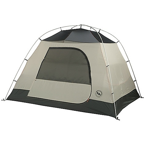 Camp and Hike On Sale. Free Shipping. Big Agnes King Creek - 6 Person Tent DECENT FEATURES of the Big Agnes King Creek 6 Person Tent Storm flap on vestibule zippers prevents drips Fabrics used on our tents include silicone treated nylon rip-stop and polyester depending on the model Cordura and event fabrics used in our Mountaineering line Waterproof polyurethane coating on all fly and floor fabrics Reflective guy line and reflective webbing on tent corners for night time visibility All seams taped with waterproof, solvent free polyurethane tape Color coded pole ends, webbing and buckles make set up easy Fly vents improve ventilation to reduce condensation Two large doors with two closure options. Mesh only for ventilation or zip up the polyester layer for complete closure Two vestibules with extra large front vestibule Fly and floor are polyester rip-stop Fly and floor have 1500mm waterproof polyurethane coating Tent body is polyester rip-stop and polyester mesh DAC lightweight pole system with press fit connectors Plastic clips attach tent body to pole frame 17 lightweight aluminum hook stakes Eight interior mesh pockets Gear loft loops included Briefcase style carry bag with shoulder straps and organizational pockets Footprint sold separately Fast Fly setup not available Fits Square gear loft The SPECS Capacity: 6 Person Trail Weight: 16 lbs 7 oz / 7.46 kg Packed Weight: 17 lbs 12 oz / 8.05 kg Fast Fly Weight: 12 lbs 8 oz / 5.67 kg Packed Size: 7 x 18 x 26in. / 18 x 46 x 66 cm Floor Size: 86.5 square feet / 8.0 square meter Vestibule Area: 110.5/11.5 square feet / 10.2/1.1 square meter Footprint Weight: 1 lb 7 oz / 652 g Floor Length: 96in. / 244 cm Floor Width: 130in. / 330 cm Head Height: 72in. / 183 cm - $369.99