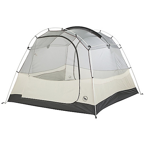 Camp and Hike On Sale. Free Shipping. Big Agnes Wolf Mountain - 4 Person Tent DECENT FEATURES of the Big Agnes Wolf Mountain 4 Person Tent Storm flap on vestibule zippers prevents drips Fabrics used on our tents include silicone treated nylon rip-stop and polyester depending on the model Cordura and event fabrics used in our Mountaineering line Waterproof polyurethane coating on all fly and floor fabrics Reflective guy line and reflective webbing on tent corners for night time visibility All seams taped with waterproof, solvent free polyurethane tape Color coded pole ends, webbing and buckles make set up easy Fly vents improve ventilation to reduce condensation Two large doors and vestibules Fly is polyester rip-stop, floor is polyester taffeta Fly and floor have 1500mm waterproof polyurethane coating Tent body is polyester rip-stop and polyester mesh DAC lightweight pole system with press fit connectors and hubs Plastic clips and sleeve attach tent body to pole frame 14 (4) lightweight aluminum hook stakes Eight interior mesh pockets Gear loft loops included Briefcase style carry bag with shoulder straps and organizational pockets Footprint sold separately Fast Fly setup available 4 fits the Large Trapezoid gear loft The SPECS Capacity: 4 Person Trail Weight: 11 lbs 11 oz / 5.30 kg Packed Weight: 12 lbs 16 oz / 5.90 kg Fast Fly Weight: 9 lbs 4 oz / 4.20 kg Packed Size: 8 x 16 x 24in. / 20 x 41 x 61 cm Floor Size: 62.5 square feet / 5.8 square meter Vestibule Area: 21.5/21.5 square feet / 2.0/2.0 square meter Footprint Weight: 1 lb 1 oz / 482 g Floor Length: 100in. / 254 cm Floor Width: 90in. / 229 cm Head Height: 65in. / 165 cm - $313.99