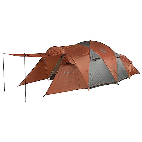 Camp and Hike Free Shipping. Big Agnes Flying Diamond - 6 Person Tent FEATURES of the Big Agnes Flying Diamond - 6 Person Tent Two doors and vestibules Doors have two closure options: Zip up mesh door for ventilation only or zip up the polyester layer for full protection Vestibule may be staked out as a shade using trekking poles 6 and 8 person may be separated into two rooms with a fabric wall that can be stowed away when not in use Storm flaps on vestibule zipper Reflective guylines and webbing on tent corners DAC Combination pole system with press fit connectors Plastic clips and sleeves attach tent body to pole frame Color coded pole ends, webbing and buckles make set up easy Lightweight aluminum hook stakes Interior mesh pockets Gear Loft loops included Briefcase style carry bag with shoulder straps and organizational pockets Footprint sold separately - $649.95