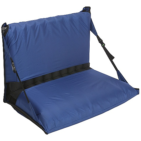 The Big Agnes Big Easy Chair Kit is a sleeping pad chair kit so you can kick it around the camp fire. The Big Easy converts your sleeping pad into a cushy seat for hanging with your buds before turning in. The kit comes in two sizes (based on width), which work with any Big Agnes sleeping pad. The chair allows your feet to be stretched out in front of you, enjoying a hot meal, or maybe a nip or two out of that hidden flask in your pack. Features of the Big Agnes Big Easy Chair Kit Big Easy converts your sleep pad into a camp chair Available in 2 sizes for 20in. or 25in. wide pads Durable 150 denier polyester with fiberglass stays Both chair kits can be used with Big Agnes pads of any length and shape, sizes 60in., 66in., 72in., or 78in. long pad and mummy or even rectangular shapes Includes mesh stuff sack, however the pad is sold separately. Please don't hate us. Comes with a mesh stuff sack - $44.95