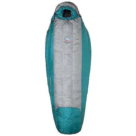 Camp and Hike On Sale. Free Shipping. Big Agnes Women's Amber SL 30 Degree Sleeping Bag DECENT FEATURES of the Big Agnes Women's Amber SL 30 Degree Sleeping Bag Integrated half pad sleeve design Mummy shaped bag Pillow pocket Liner loops 60in./152cm YKK #5 zipper 70in./178cm YKK #5 zipper Mate together left and right zip bags Mesh storage sack and nylon stuff sack No-draft collar, No-draft wedge, No-draft zipper The SPECS Temperature Rating: 30deg F / -1deg C Stuff Sack Size: S: 7.5 x 15in. / 19 x 38 cm Pad Size: 20in. / 51 cm wide Pertex Nylon shell fabric Nylon taffeta lining Flow Construction Fill Type: 800 fill down insulation The SPECS for Petite Fit Up To: 5'10in. / 178 cm Fill Weight: 9 oz / 250 g Bag Weight: 1 lb 12 oz / 794 g Compressed Size: 7 x 6in. / 18 x 15 cm The SPECS for Regular Fit Up To: 5'8in. / 173 cm Fill Weight: 10 oz / 280 g Bag Weight: 2 lbs / 907 g Compressed Size: 7 x 6.5in. / 18 x 17 cm - $259.99