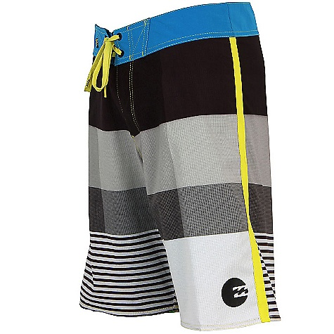 Surf On Sale. Free Shipping. Billabong Men's Komplete Boardshort DECENT FEATURES of the Billabong Men's Komplete Boardshorts Recycler Platinum X Quad Stretch boardshort Multi-color stripe breakup Solid waistband Side binding Wave patch 87% recycled polyester 13% spandex - $29.99