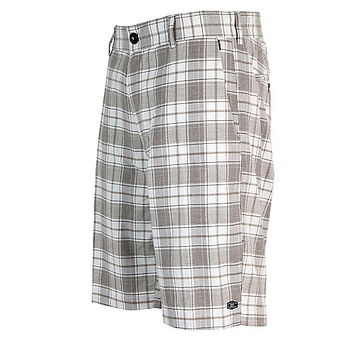 Surf On Sale. Free Shipping. Billabong Men's Russel Short DECENT FEATURES of the Billabong Men's Russel 21in. TAJ FIT Yarn dye plaid walkshort Slanted side entry pockets Billabong woven label Made with 65% cotton/35% polyester - $25.99