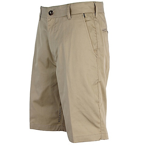 Surf On Sale. Billabong Men's Carter Short DECENT FEATURES of the Billabong Men's Carter 22in. TAJ FIT Work wear chino style walkshort Details include welt back pockets Sleek cell phone pocket at the side seam Woven work wear patch at the back hip Made with 65% polyester/35% cotton - $24.99