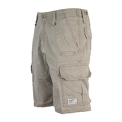 Surf On Sale. Free Shipping. Billabong Men's Scheme Short DECENT FEATURES of the Billabong Men's Scheme 21in. REGULAR FIT Mini ripstop cargo walkshort Heavy enzyme stone wash Novelty stitching Adjustable tab waistband Billabong woven labels and anchor pin Made with 100% cotton - $32.99