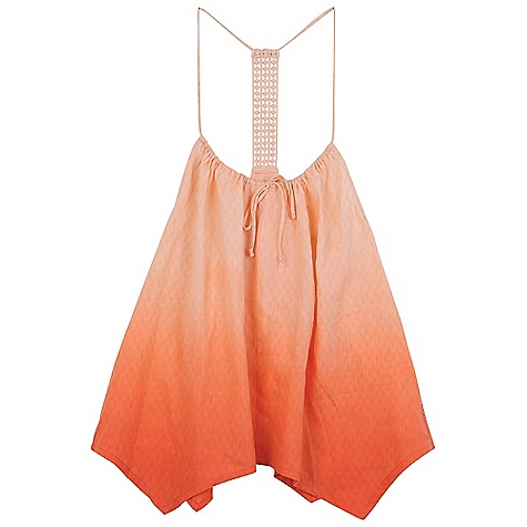 Surf On Sale. Billabong Women's Dance All Day Cami DECENT FEATURES of the Billabong Women's Dance All Day Cami Woven yarn dyed stripe swing cami Fringe at sweep A cropped HPS The SPECS 55% cotton 45% vicose - $19.99