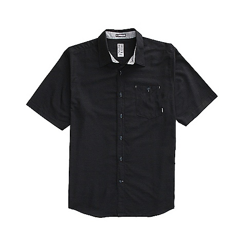 Surf On Sale. Free Shipping. Billabong Men's Level SS Shirt DECENT FEATURES of the Billabong Men's Level Horizontal pinstripe woven with a single front chest pocket Button closure Garment features contrast pocket Button closure Garment features contrast fabrics, bartracks and button holes Made with 100% cotton - $16.99