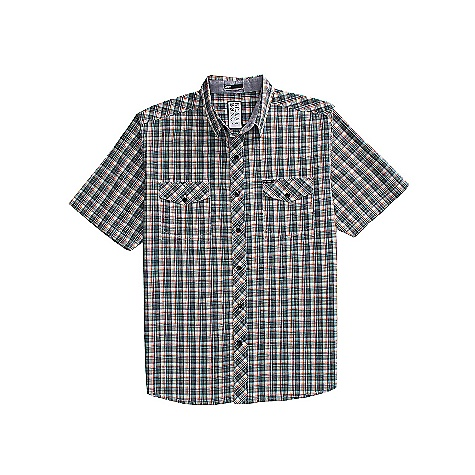 Surf On Sale. Free Shipping. Billabong Men's Spent SS Shirt DECENT FEATURES of the Billabong Men's Spent Short sleeve plaid woven with dual front chest pockets Dual front chest pockets The garment features contrast fabrics Woven labeling Heavy enzyme wash Made with 100% cotton - $21.99