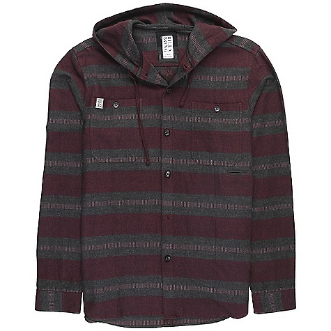 Surf On Sale. Free Shipping. Billabong Men's Ventura DECENT FEATURES of the Billabong Men's Ventura Long sleeve hooded flannel Offers 2 front chest pockets with woven labeling Details also include contrasting fabrics and metal badging The SPECS 100% cotton - $44.99
