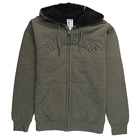 Surf On Sale. Free Shipping. Billabong Men's Fill It Up Hoody DECENT FEATURES of the Billabong Men's Fill It Up Hoody Sherpa lined Hooded zip-up fleece Front chest applique Front pouch pockets The SPECS 65% polyester 35% cotton - $39.99