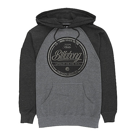Surf On Sale. Free Shipping. Billabong Men's Stamped Hoody DECENT FEATURES of the Billabong Men's Stamped Hoody Lightweight brushed back pull-over Raglan fleece Softhand screen print - $29.99