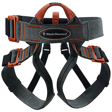 Climbing The Vario Speed Harness by Black Diamond has a one-size-Fits-all design and a simple-to-adjust two-inch Speed Buckle that doesn't require back threading and is a great choice for guide schools, rock gyms and outdoor programs. Features of the Black Diamond Vario Speed All-Around Harness Large quick-adjust buckle on waistbelt is prethreaded and doesn't require doubling back Quick-adjust leg loops Constructed from wide nylon webbing Also recommended for gym use - $44.96