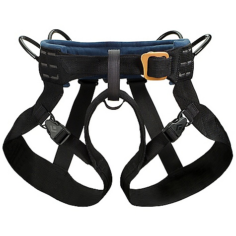 Climbing Free Shipping. Black Diamond Bod Harness FEATURES of the Black Diamond Bod All-Around Harness Fleece-padded waistbelt with traditional buckle Quick-release leg loops constructed from nylon webbing Supportive rear straps 4 gear loops 12 kN-rated belay and haul loops - $49.95