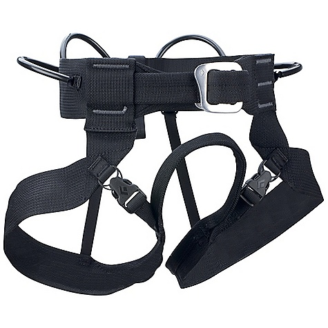 Climbing Black Diamond Alpine Bod Harness FEATURES of the Black Diamond Alpine Bod All-Around Harness Traditional buckle Quick-release leg loops 4 gear loops 12 kN-rated haul loop Entire harness constructed from quick-dry nylon webbing - $44.95