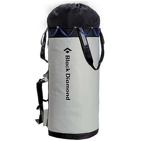 Climbing Free Shipping. Black Diamond Zion Haul Bag FEATURES of the Black Diamond Zion Haul Bag Tough vinyl-laminated nylon fabric Tuck-away EVA foam padded straps and hip belt Built-in belay seat and double-walled skirt - $229.95