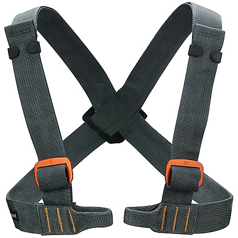 Climbing Black Diamond Vario Chest Harness DECENT FEATURES of the Black Diamond Vario Chest All-Around Harness Traditional buckles Constructed from wide nylon webbing Must be worn with a sit harness cannot be used alone Fit range 61-117 cm (24-46in.) The SPECS Type: Unisex Weight: 9 oz / 255 g Nylon webbing ALL CLIMBING SALES ARE FINAL. - $39.95