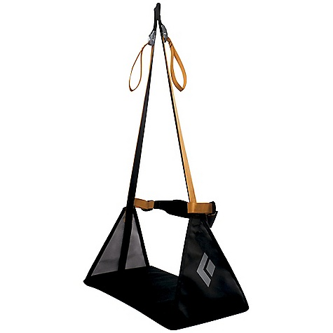 Climbing Free Shipping. Black Diamond Bosun's Chair FEATURES of the Black Diamond Bosun's Chair Adjustable design for comfort at belay Daisy chain for additional organization - $69.95