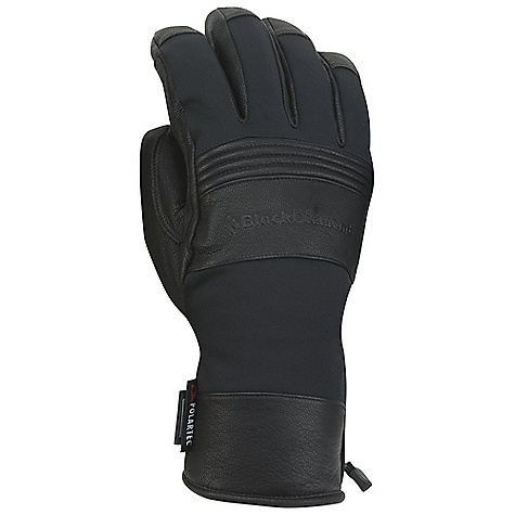 On Sale. Free Shipping. Black Diamond Men's Patrol Glove DECENT FEATURES of the Black Diamond Men's Patrol Glove Fixed lining with 100% waterproof BDry insert Woven nylon, abrasion-resistant shell with 4-way stretch Fixed lining has 142 g Prima Loft One insulation on back of hand and Polartec Thermal Pro High Loft fleece palm Goat leather palm and knuckle patches The SPECS Weight: per pair: 5 oz / 144 g Temperature Range: 0 / 30deg F / -17 / -1deg C - $59.99