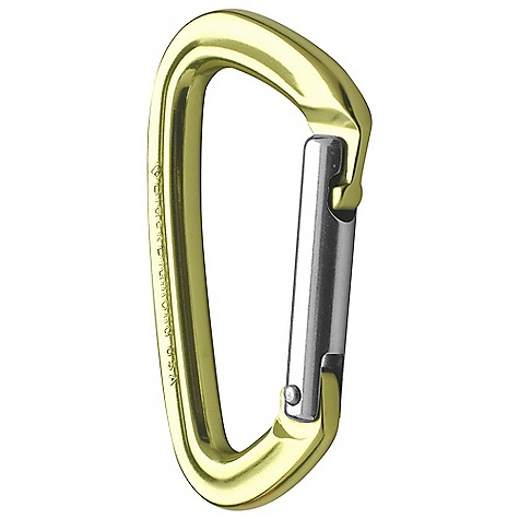 Climbing Black Diamond Positron Carabiner - Straight DECENT FEATURES of the Black Diamond Positron Carabiner - Straight Keylock nose doesn't snag Smaller than Dynotron, yet easy to hold Available in straight or bentgate version The SPECS Weight: 1.7 oz / 49 g Close Gate Strength: 5,620 lbf / 25 kN Open Gate Strength: 1,798 lbf / 8 kN Minor Axis Strength: 1,798 lbf / 8 kN Gate Opening: 0.86in. / 22 mm ALL CLIMBING SALES ARE FINAL. - $7.95