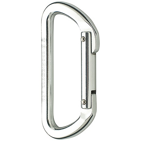 Climbing Black Diamond Light D Carabiner FEATURES of the Black Diamond Light D Carabiner D-shape transmits majority of force to the strongest part-the spine Low-profile nose fits through fixed pins and hangers Symmetrical and economical - $6.50