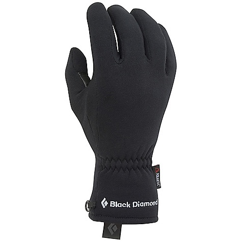 Black Diamond Men's MidWeight Glove DECENT FEATURES of the Black Diamond Men's Midweight Glove 241 g Polartec Power Stretch fleece Goat leather palm patch The SPECS Type: Unisex Weight: per pair: 1.6 oz / 45 g Temperature Range: 35/45deg F / 2/7deg C - $29.95