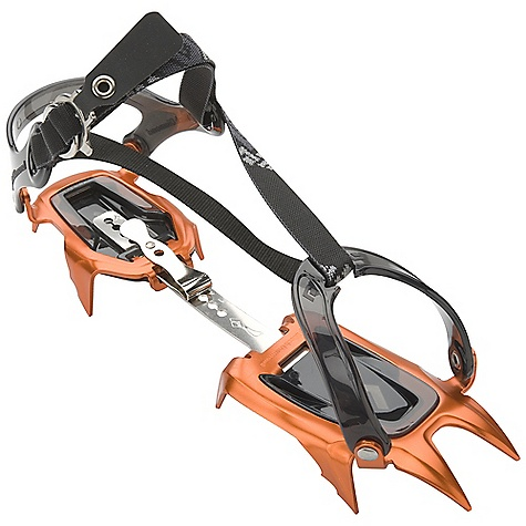 Climbing The Neve Strap Crampon by Black Diamond. A 10-point Snow Climbing crampon that pushes the envelope in Performance, weight reduction and style. Features of the Black Diamond Neve Strap Lightweight, aluminum crampons with Flex Center Bars Highly formed front and rear rails Pro version Features aluminum wire bails and micro-adjust heel lever for telemark, ice and randonnee boots Strap version Features a softer strap that better accommodates trekking and trail running footwear Includes Dual-Density ABS - $112.46