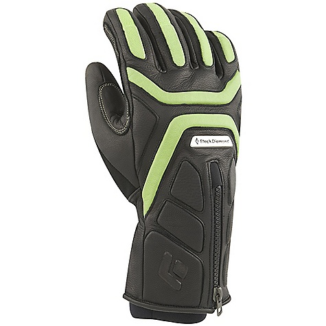 On Sale. Free Shipping. Black Diamond Men's Mad Max Gloves DECENT FEATURES of the Black Diamond Men's Mad Max Gloves Fixed lining with 100% waterproof and breathable Gore-Tex Product Technology Full goat leather shell and palm 142 g PrimaLoft insulation and boiled wool on back of hand, plus 100 fleece on palm Molded EVA foam padding on knuckles for impact protection Under-the-cuff hook-and-loop closure The SPECS Weight: per pair: 9.9 oz / 280 g Temperature Range: -20/10deg F / -29/-12deg C - $119.99