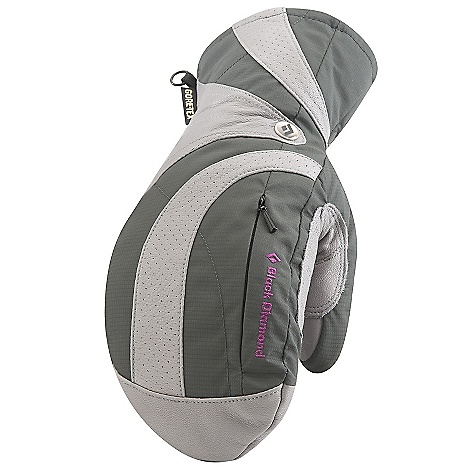 Free Shipping. Black Diamond Women's Fever Mitt DECENT FEATURES of the Black Diamond Women's Fever Mitt Fixed lining with 100% waterproof and breathable Gore-Tex with XCR Product Technology insert Full goat leather shell with stretch cuff Fixed lining has 170 g PrimaLoft One insulation on back of hand and 133 g PrimaLoft One needlepunch palm Zippered pocket for heater packet Women's-specific fit, sizing and styling The SPECS Weight: per pair: 7.9 oz / 224 g Temperature Range: -20/10deg F / -28/-12deg C - $109.95