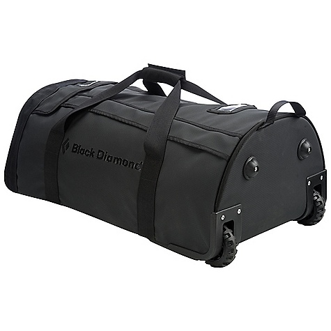 Entertainment Free Shipping. Black Diamond Hercules Duffel Bag DECENT FEATURES of the Black Diamond Hercules Duffel Bag Durable, large-diameter wheels and a non-mechanical extension handle Rhinotek material is super durable and weather resistant Large, dual-zippered access that is lockable Padded, interlocking handles Hercules 100 is the maximum legal airline check-in size The SPECS Material: Rhinotek The SPECS for 150 L Volume: 9154 cubic inches / 150 liter Dimension: 38 x 20 x 16in. / 97 x 51 x 41 cm Average Stock Weight: 11 lbs 3 oz / 5.07 kg The SPECS for 100 L Volume: 6102 cubic inches / 100 liter Dimension: 33 x 19 x 15in. / 84 x 48 x 38 cm Average Stock Weight: 9 lbs 8 oz / 4.34 kg The SPECS for 60 L Volume: 3661 cubic inches / 60 liter Dimension: 28 x 17 x 12in. / 71 x 43 x 30 cm Average Stock Weight: 7 lbs 15 oz / 3.61 kg OVERSIZE ITEM: We cannot ship this product by any expedited shipping method (3-Day, 2-Day or Next Day). Even if you pick that option, it will still go Ground Shipping. Sorry for being so mean. - $239.95