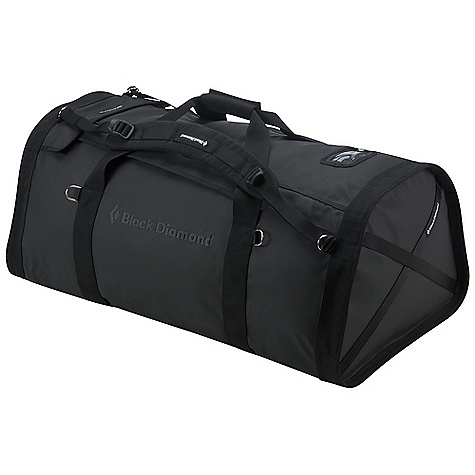 Entertainment Free Shipping. Black Diamond Huey Duffel DECENT FEATURES of the Black Diamond Huey Duffel Large, dual-zippered access for easy packing Rhinotek material is super durable and weather resistant Padded, interlocking handles 2 padded, removable backpack-style shoulder straps Huey 100 is the maximum legal airline check-in size The SPECS Rhinotek The SPECS for 150 liter Volume: 9,154 cubic inches / 150 liter Dimension: 16 x 21 x 38in. / 41 x 53 x 97 cm Average Stock Weight: 5 lbs 13 oz / 2.65 kg The SPECS for 100 liter Volume: 6,102 cubic inches / 100 liter Dimension: 14 x 19 x 32.5in. / 36 x 48 x 83 cm Average Stock Weight: 4 lbs 7 oz / 2 kg The SPECS for 60 liter Volume: 3,661 cubic inches / 60 liter Dimension: 11 x 17 x 28in. / 28 x 43 x 71 cm Average Stock Weight: 3 lbs 10 oz / 1.65 kg OVERSIZE ITEM: We cannot ship this product by any expedited shipping method (3-Day, 2-Day or Next Day). Even if you pick that option, it will still go Ground Shipping. Sorry for being so mean. - $139.95