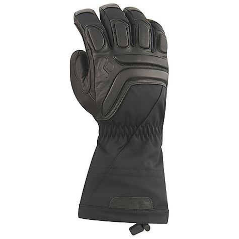 Free Shipping. Black Diamond Guide Gloves DECENT FEATURES of the Black Diamond Men's Guide Gloves 100% waterproof and breathable Gore-Tex insert with XCR Product Technology stays with removable liner Abrasion-resistant Woven nylon shell with 4-way stretch Removable liner features 142 g PrimaLoft One and boiled wool 100 g fleece palm lining Goat leather palm and palm patch Compression-molded EVA foam padding on knuckles for impact protection The SPECS Weight: per pair: 11 oz / 312 g Temperature Range: -20/10deg F / -29/-12deg C - $159.95