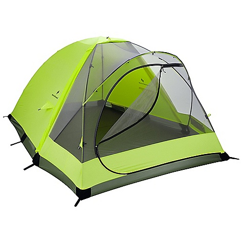 Camp and Hike Free Shipping. Black Diamond Skylight 2-3 Person Tent DECENT FEATURES of the Black Diamond Skylight 2-3 Person Tent 2- to 3-person hybrid design Single-door entry and built-in rollup vestibule for gear storage 3 internal DAC Featherlite poles 4 interior mesh pockets Proprietary NanoShield single-wall fabric with breathable mesh front and 2000 mm floor Optional ground cloth available The SPECS Capacity: 2-3 Person Season: 4 Doors: 1 Average Packaged Weight: 5 lbs / 2.26 kg Minimum Weight: 4 lbs 3 oz / 1.9 kg Dimension: (L X W1 X W2 X H): 88 x 69 x 51 x 42in. / 224 x 178 x 130 x 107 cm Area: 36.6 square feet / 3.4 square meter Vestibule Area: 10 square feet / 0.93 square meter Packed Size: 7 x 12in. / 18 x 30 cm - $449.95